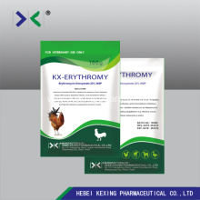 Good Quality for Erythromycin Ethylsuccinate Erythromycin Thiocyanate 5% Soluble Powder poultry export to China Hong Kong Factories